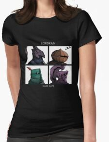 Lordran Dark Days Womens Fitted T-Shirt