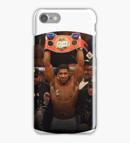Anthony Joshua Boxing World Champion  iPhone Case/Skin