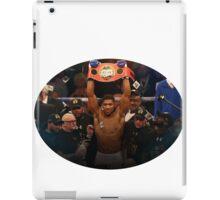 Anthony Joshua Boxing World Champion  iPad Case/Skin