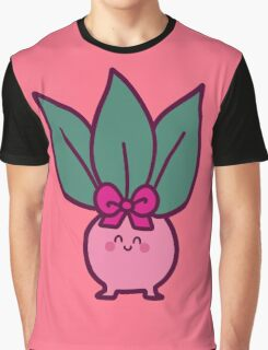 Pink Oddish Graphic T-Shirt