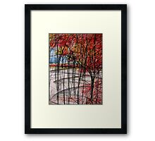 But a Single Being Framed Print