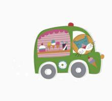 Ice Cream Truck Kids Tee