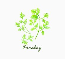 Watercolor Herb Parsley Illustration Unisex T-Shirt