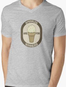 Sprinkles are for Winners  Mens V-Neck T-Shirt