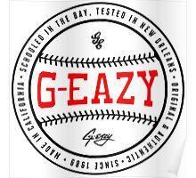 G-Eazy Logo Poster