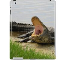 Boring and yawning iPad Case/Skin