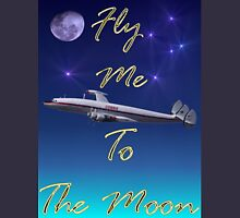 Fly Me To The Moon T-shirt Design Unisex T-Shirt