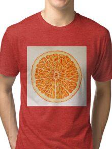 Orange Tri-blend T-Shirt