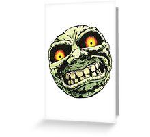 Majora's Moon Greeting Card