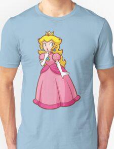 Princess Peach! - Surprised Unisex T-Shirt