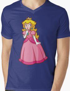 Princess Peach! - Surprised Mens V-Neck T-Shirt