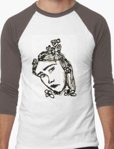 Rodarte Floral Lady 3 Men's Baseball ¾ T-Shirt