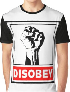 Disobey Revolution Graphic T-Shirt
