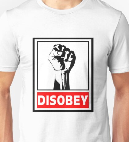 Disobey Revolution Unisex T-Shirt