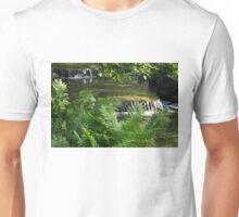 Listen to the Babbling Brook - Green Summer Zen Unisex T-Shirt