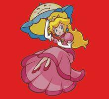 Princess Peach! - Floating Baby Tee