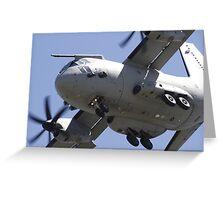 C-27J Spartan Greeting Card