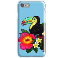 Tropical Toucan (Colour) iPhone Case/Skin