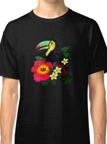 Tropical Toucan (Colour) Classic T-Shirt