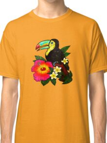 Tropical Toucan (Colour) Classic T-Shirt