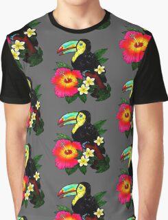 Tropical Toucan (Colour) Graphic T-Shirt