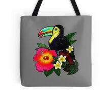 Tropical Toucan (Colour) Tote Bag