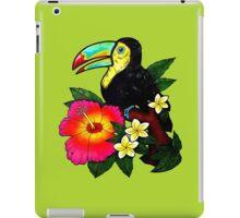 Tropical Toucan (Colour) iPad Case/Skin