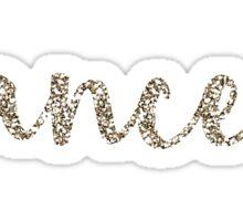 Cancer Sparkly Star Symbol Sticker