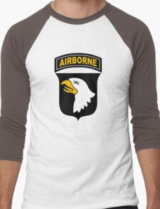 101st Airborne Men's Baseball ¾ T-Shirt