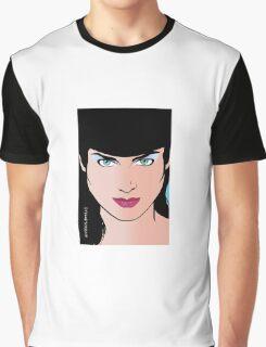 Pop Art Illustration of Beautiful Pop Art Woman Erin Graphic T-Shirt