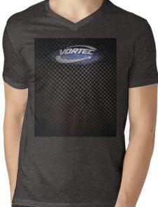Carbon Fiber Vortec Mens V-Neck T-Shirt