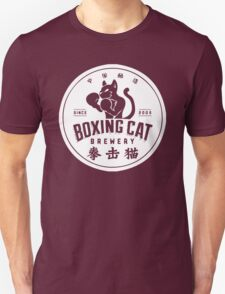 Boxing Cat Brewery Chinese Beer T-Shirt