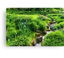 The Green Magic of Summer - a Luscious Garden Canvas Print