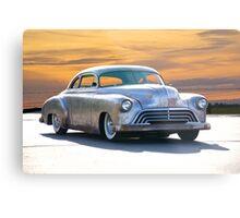 1951 Chevrolet Custom Coupe Metal Print