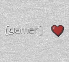Gamer Heart One Piece - Long Sleeve