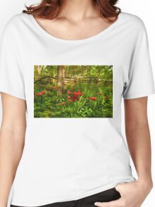 Untamed Tulip Forest - Impressions Of Spring Women's Relaxed Fit T-Shirt