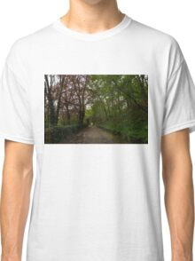 Spring Forest With Tulips Classic T-Shirt