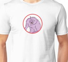 Comic Werewolf Unisex T-Shirt