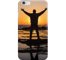 Wake up to smell the salt iPhone Case/Skin