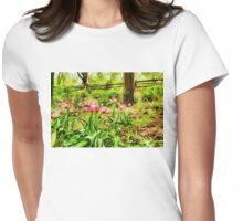 Dreamy Tulip Garden - Impressions Of Spring Womens Fitted T-Shirt