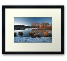 When the Sun Starts Touching Framed Print