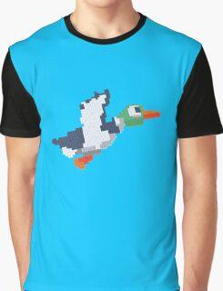 8-Bit Duck Graphic T-Shirt