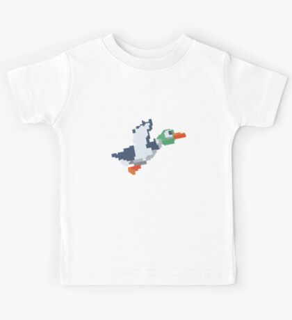 8-Bit Duck Kids Tee