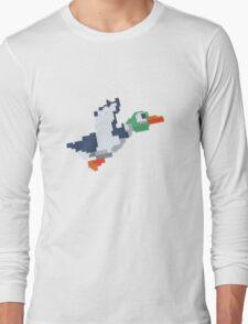 8-Bit Duck Long Sleeve T-Shirt