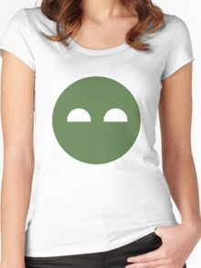 Halo ODST Superintendent - Calm Women's Fitted Scoop T-Shirt