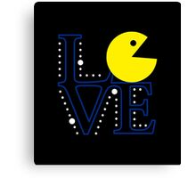 Pac Love Canvas Print