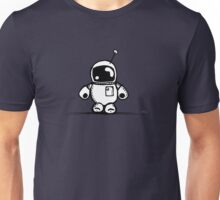 SPACE BAH the robot - white BG Unisex T-Shirt