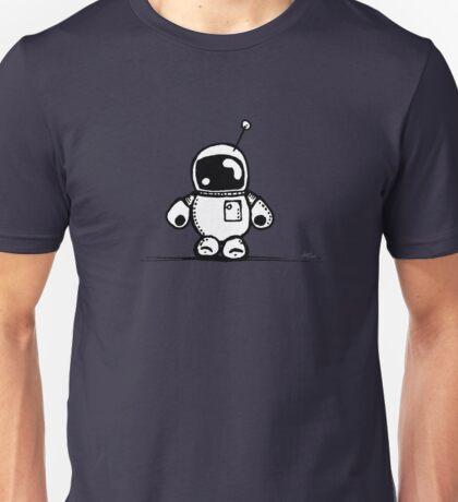 SPACE BAH the robot - white BG Unisex T-Shirt