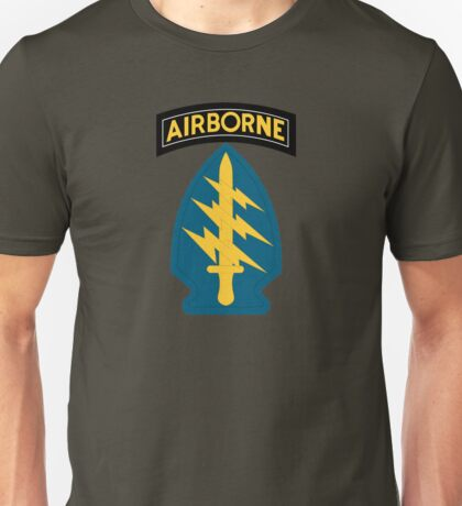 Airborne Army Special Forces Insignia Unisex T-Shirt