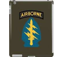 Airborne Army Special Forces Insignia iPad Case/Skin